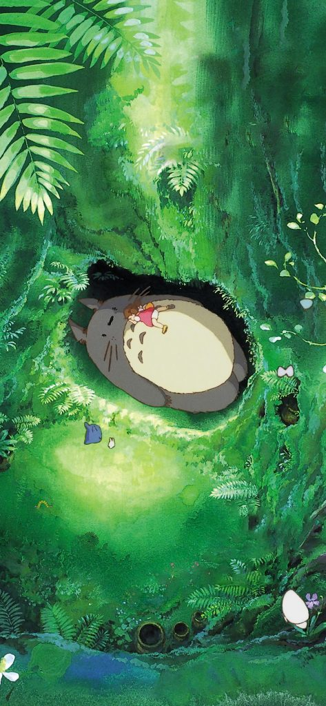 Cute Wallpaper Free Download For Iphone X My Neighbor Totoro